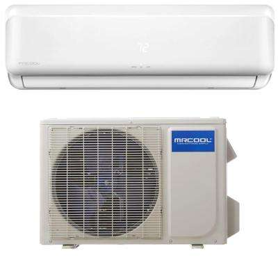Advantage 18,000 BTU 1.5 Ton Ductless Mini-Split Air Conditioner and Heat Pump - 230V/60Hz