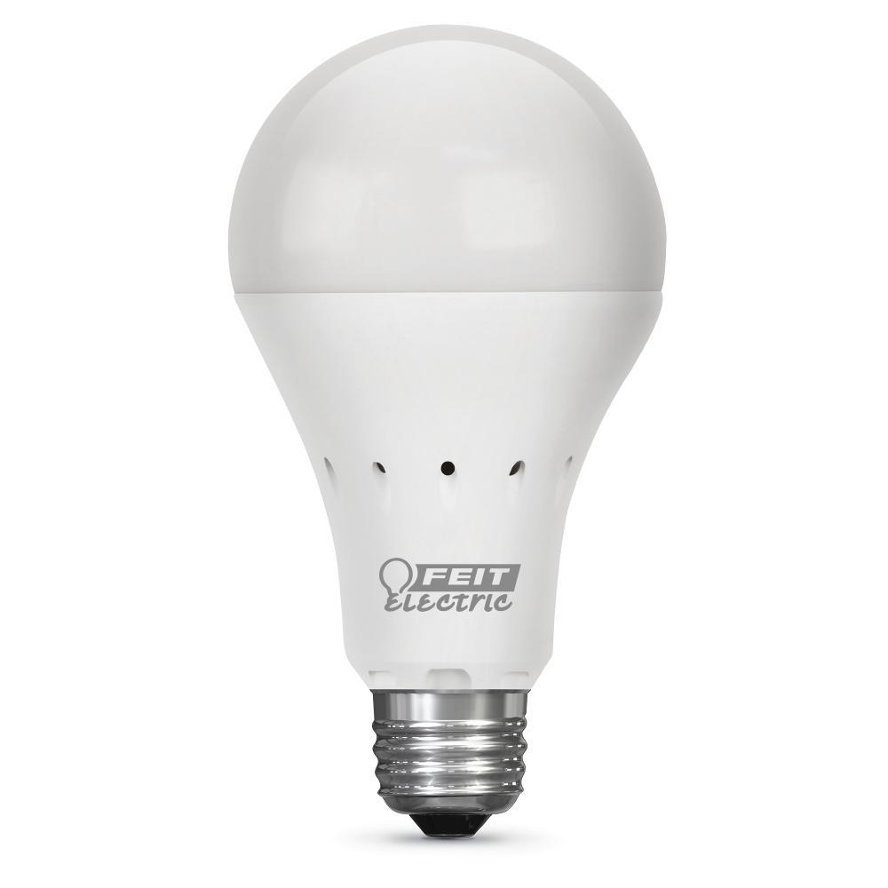 40-Watt Equivalent Soft White A21 IntelliBulb Battery Backup LED Light Bulb