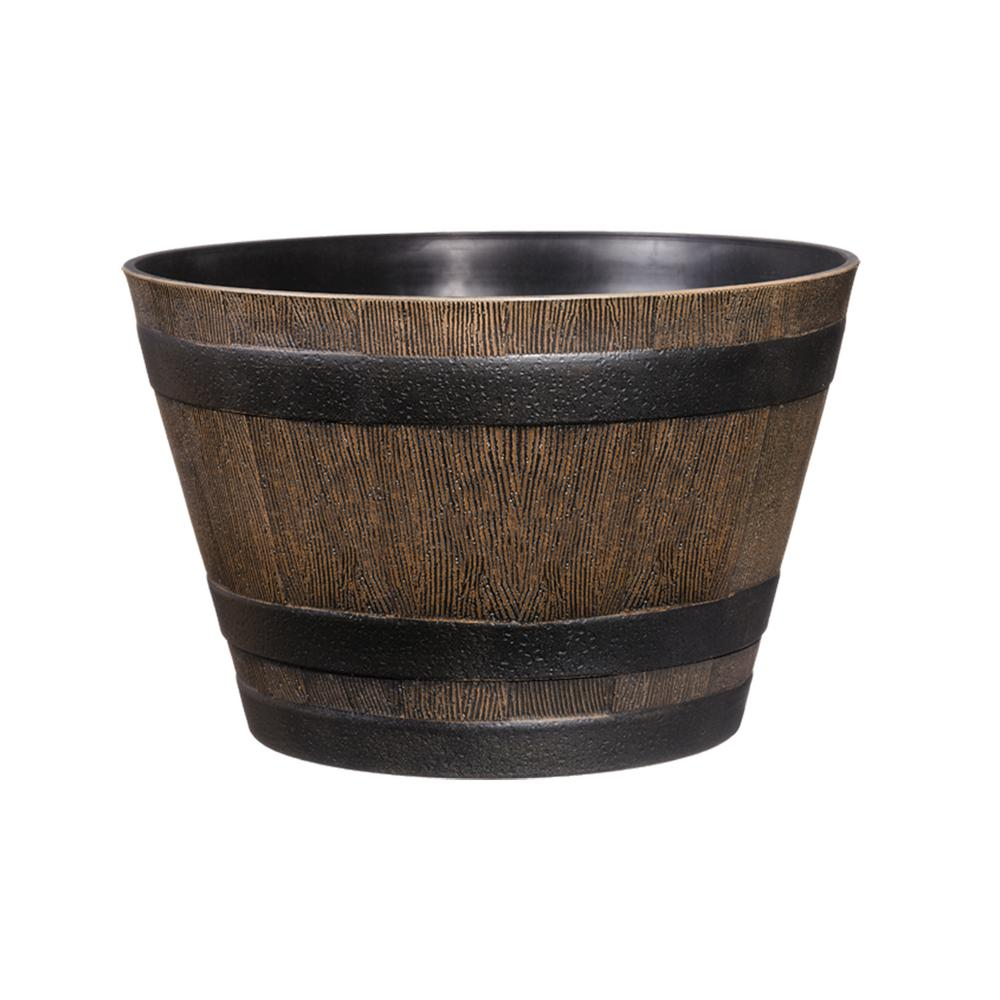 20 in. Resin Whiskey Barrel