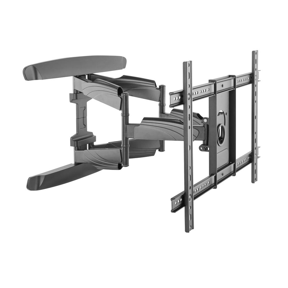 monster mounts 42 in 75 in full motion tv mount bracket ma641 the home depot. Black Bedroom Furniture Sets. Home Design Ideas