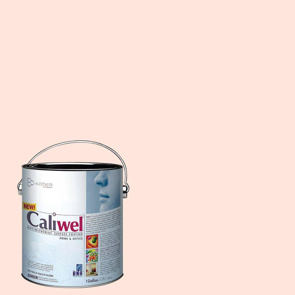 Caliwel Home & Office 1 gal. Clear Horizon Pink Latex Premium Antimicrobial and Anti-Mold Interior Paint
