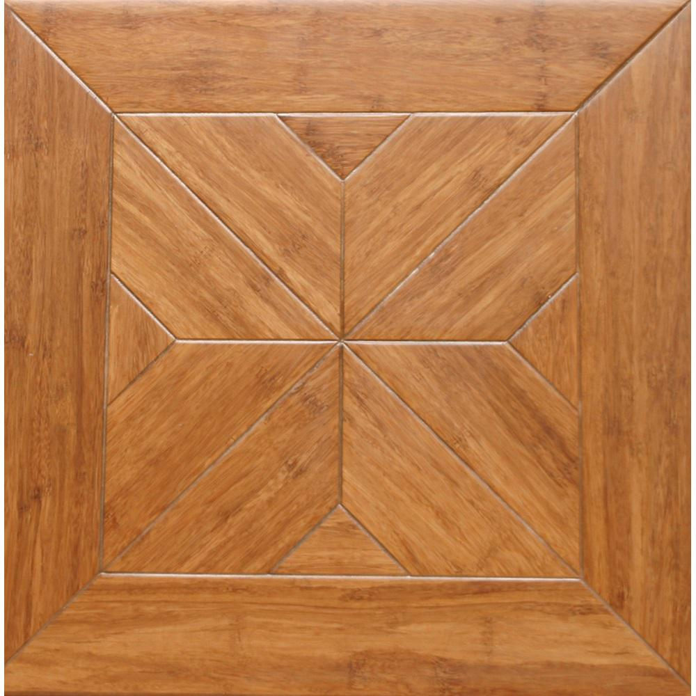 Islander Estate 9/16 In. Thick X 15.75 In. Width X 15.75 In. Length Engineered Parquet Hardwood Flooring (17.22 Sq. Ft. / Case)