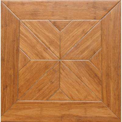 Estate 9/16 in. Thick x 15.75 in. Width x 15.75 in. Length Engineered Parquet Hardwood Flooring (17.22 sq. ft. / case)