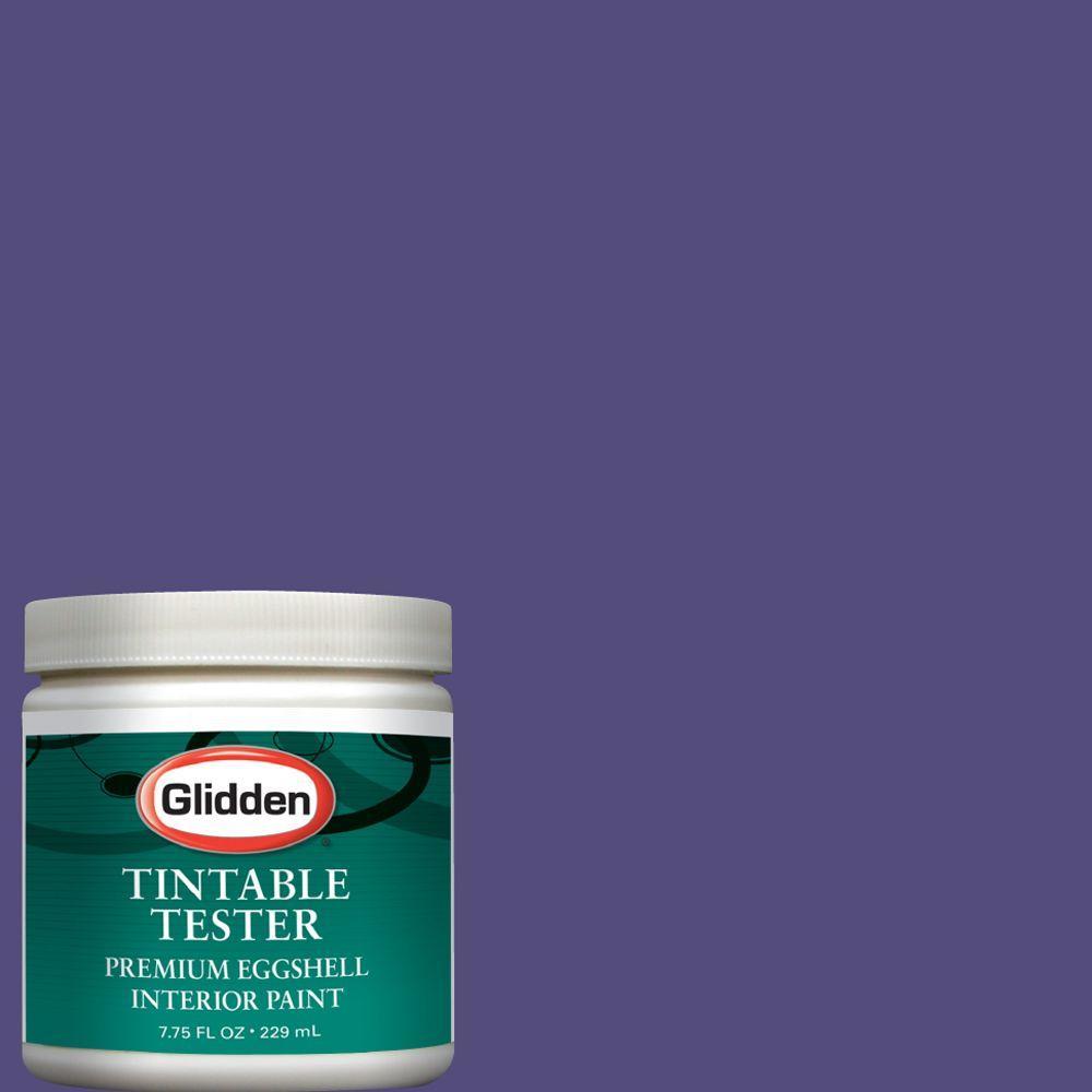 Glidden Premium 8-oz. Pure Purple Interior Paint Tester