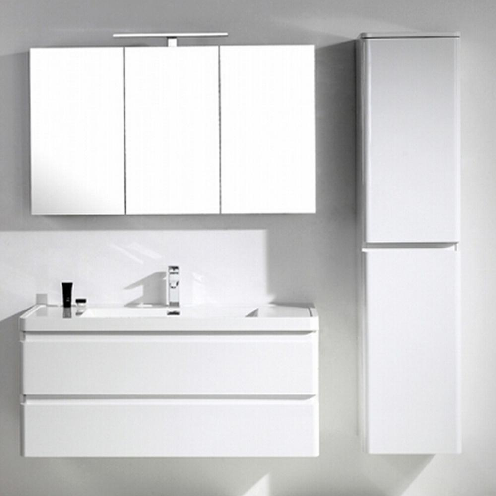 Eviva Glazzy 48 in. W x 19 in. D Bath Vanity in High Gloss ...
