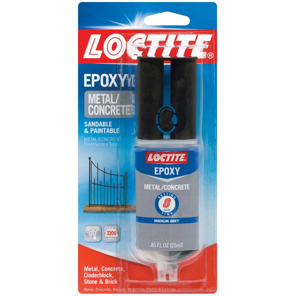 Loctite Metal and Concrete 0.85 fl. oz. Epoxy