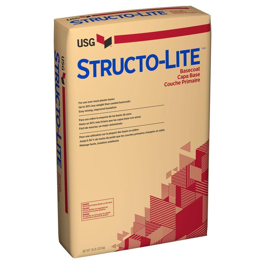 USG Structo-Lite 50 lb. Basecoat Plaster