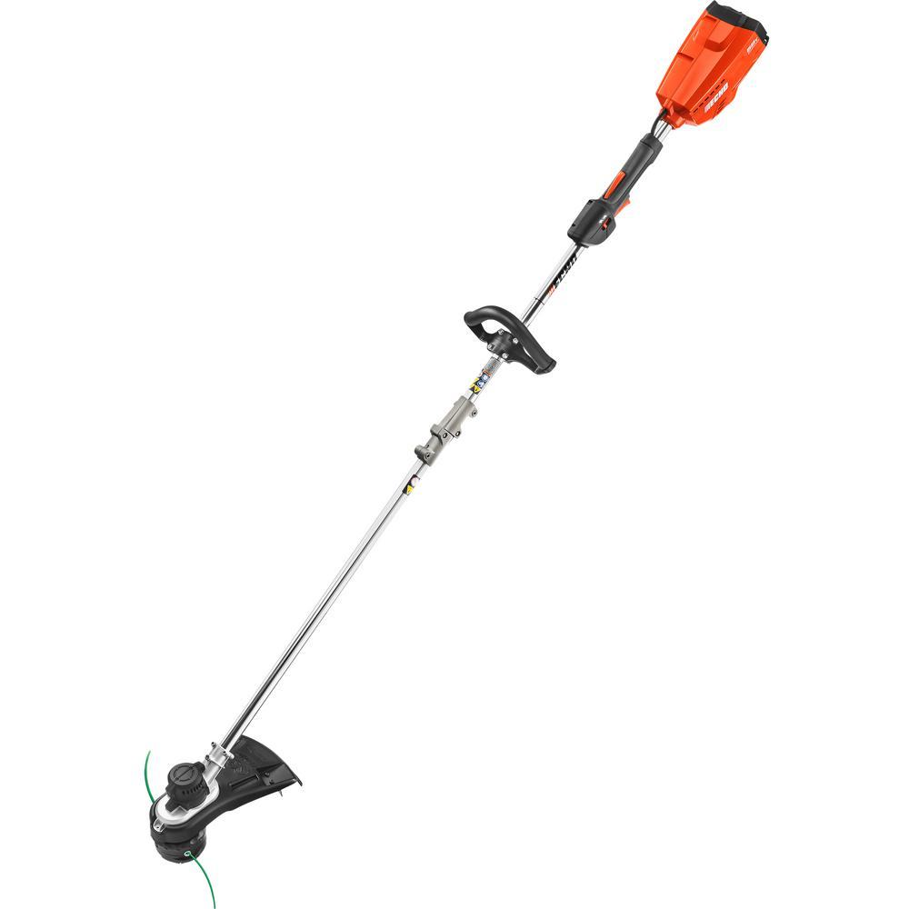 58-Volt Lithium-Ion Brushless Electric Cordless String Trimmer - Battery and