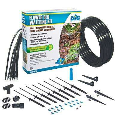 Flower Bed Watering Kit