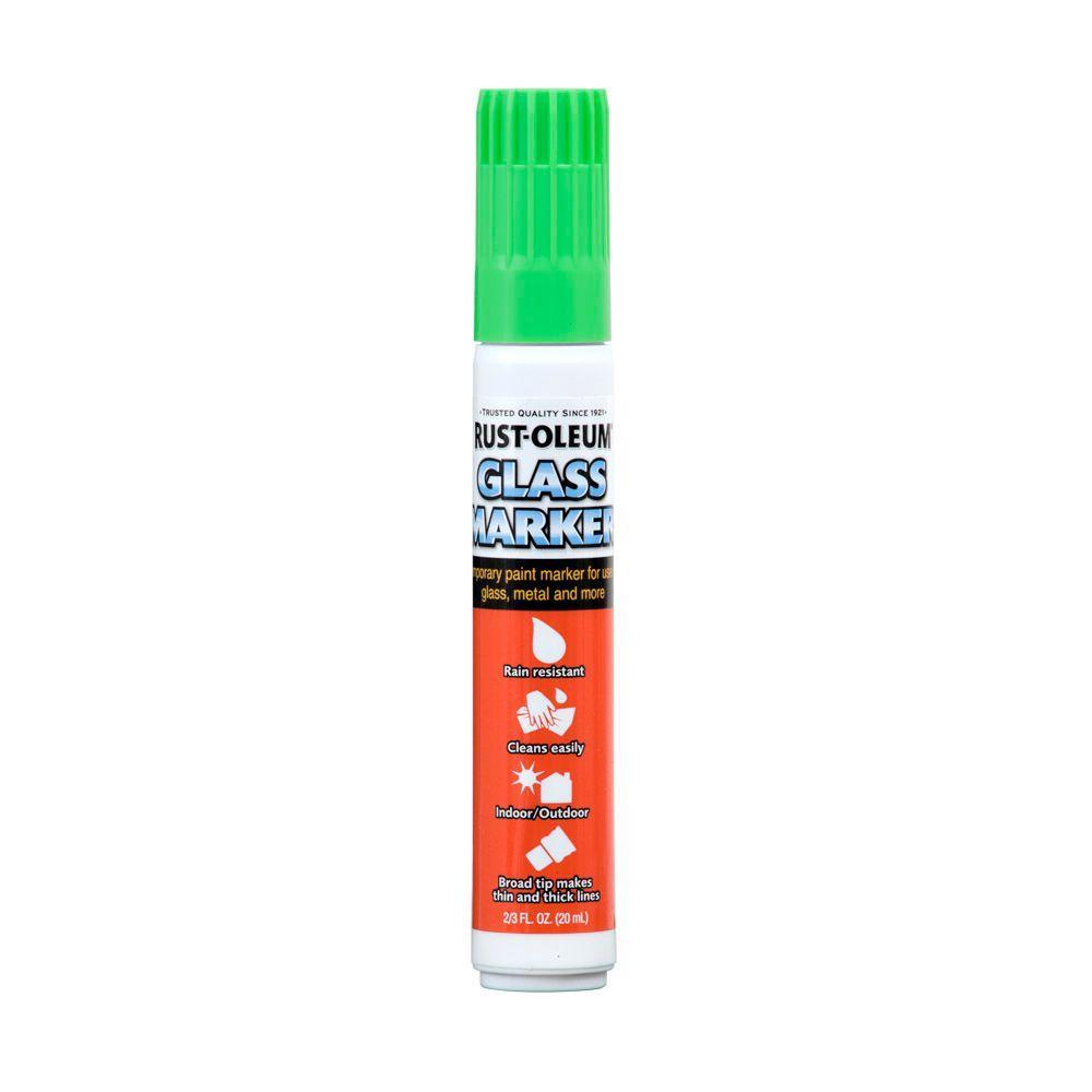 Rust-Oleum Automotive 2/3 fl. oz. Green Glass Marker