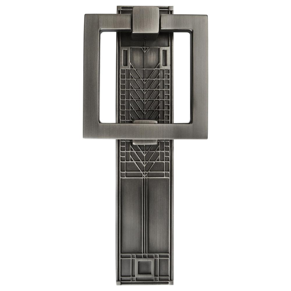 Architectural Mailboxes Frank Lloyd Wright Collection Tree of Life Antique Pewter Door Knocker