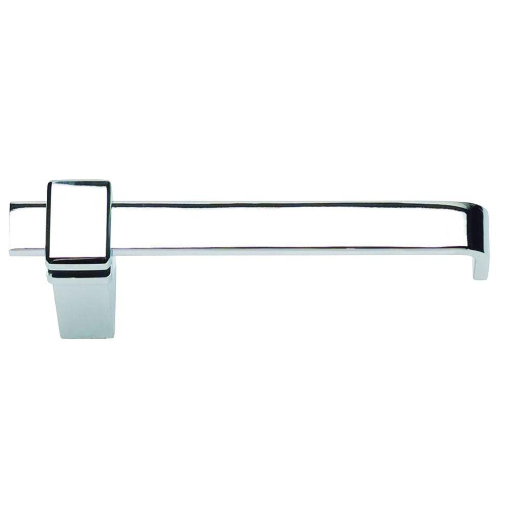 Atlas Homewares Buckle Up Collection Single Post Toilet Paper Holder in Polished Chrome-DISCONTINUED