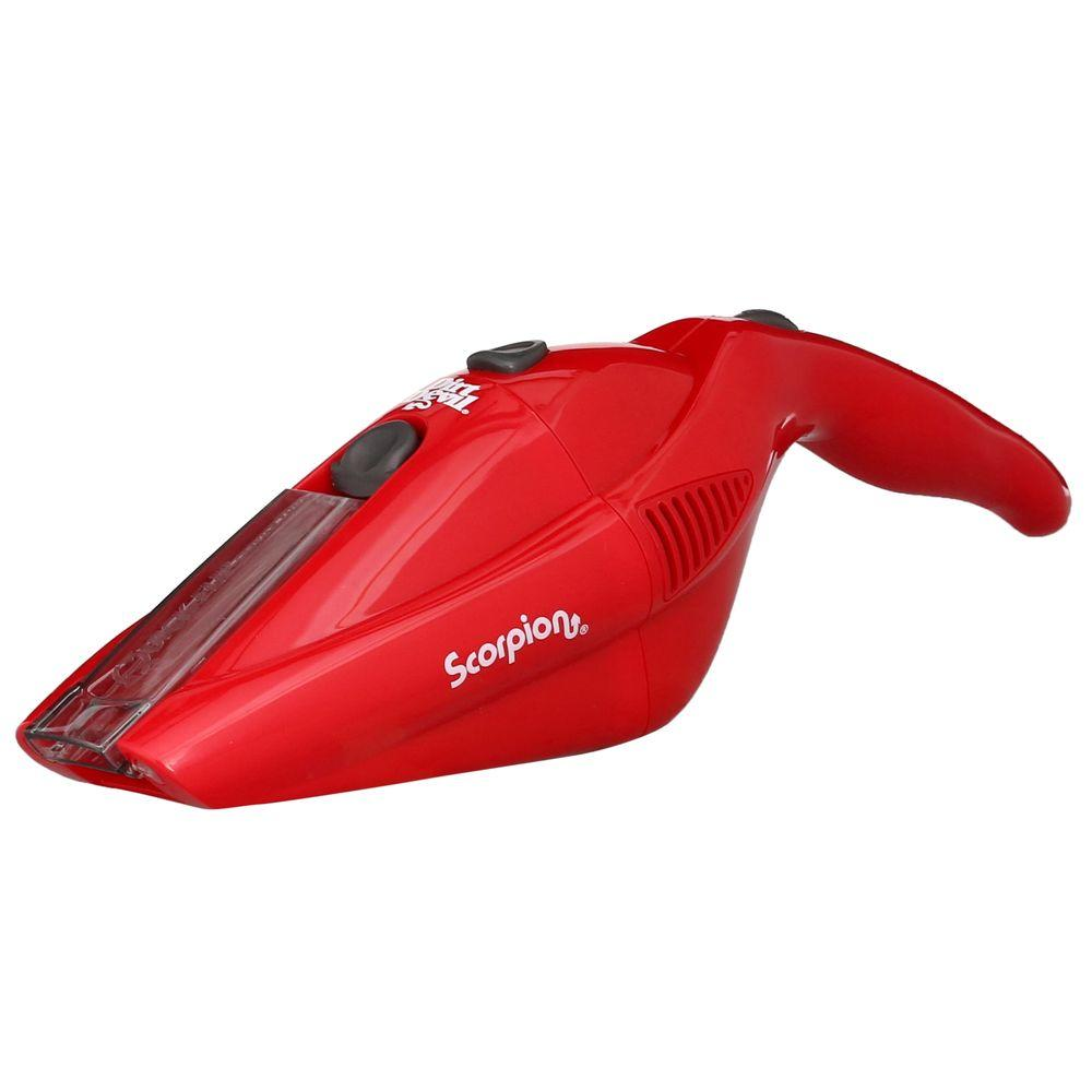Dirt Devil Scorpion 6-Volt Cordless Handheld Vacuum Cleaner, Reds/Pinks
