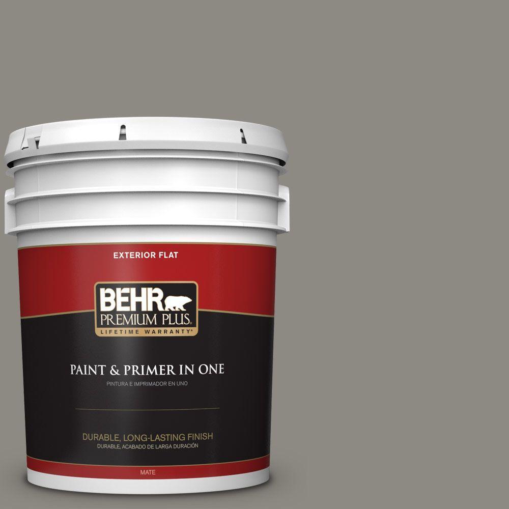 BEHR Premium Plus 5-gal. #bxc-55 Concrete Sidewalk Flat E...