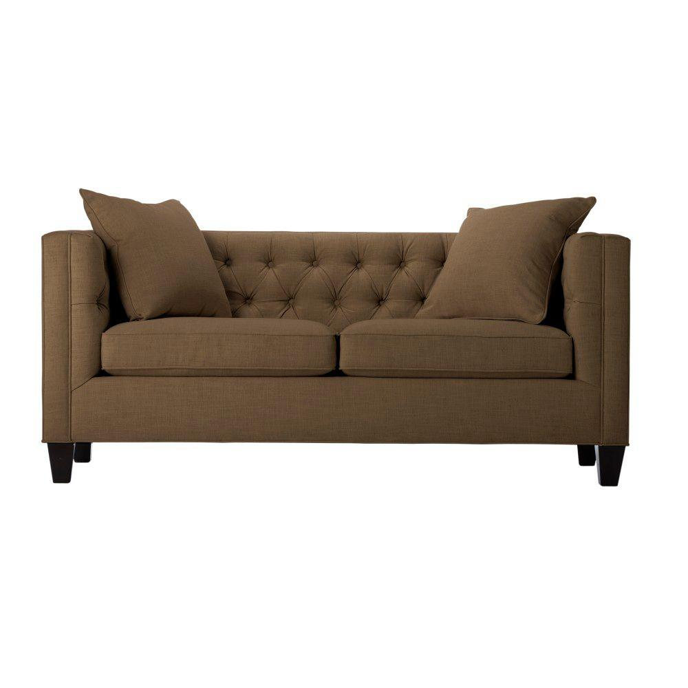 Home Decorators Collection Lakewood 70 in. W Kayak Tufted Sofa