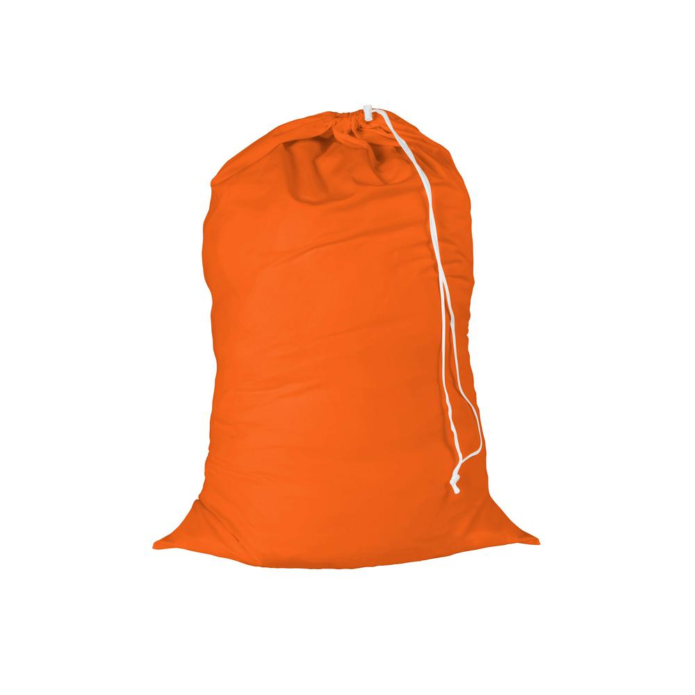 Jersey Cotton Laundry Bag in Orange (2-Pack)