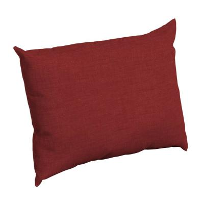 Ruby Leala Texture Rectangle Outdoor Throw Pillow