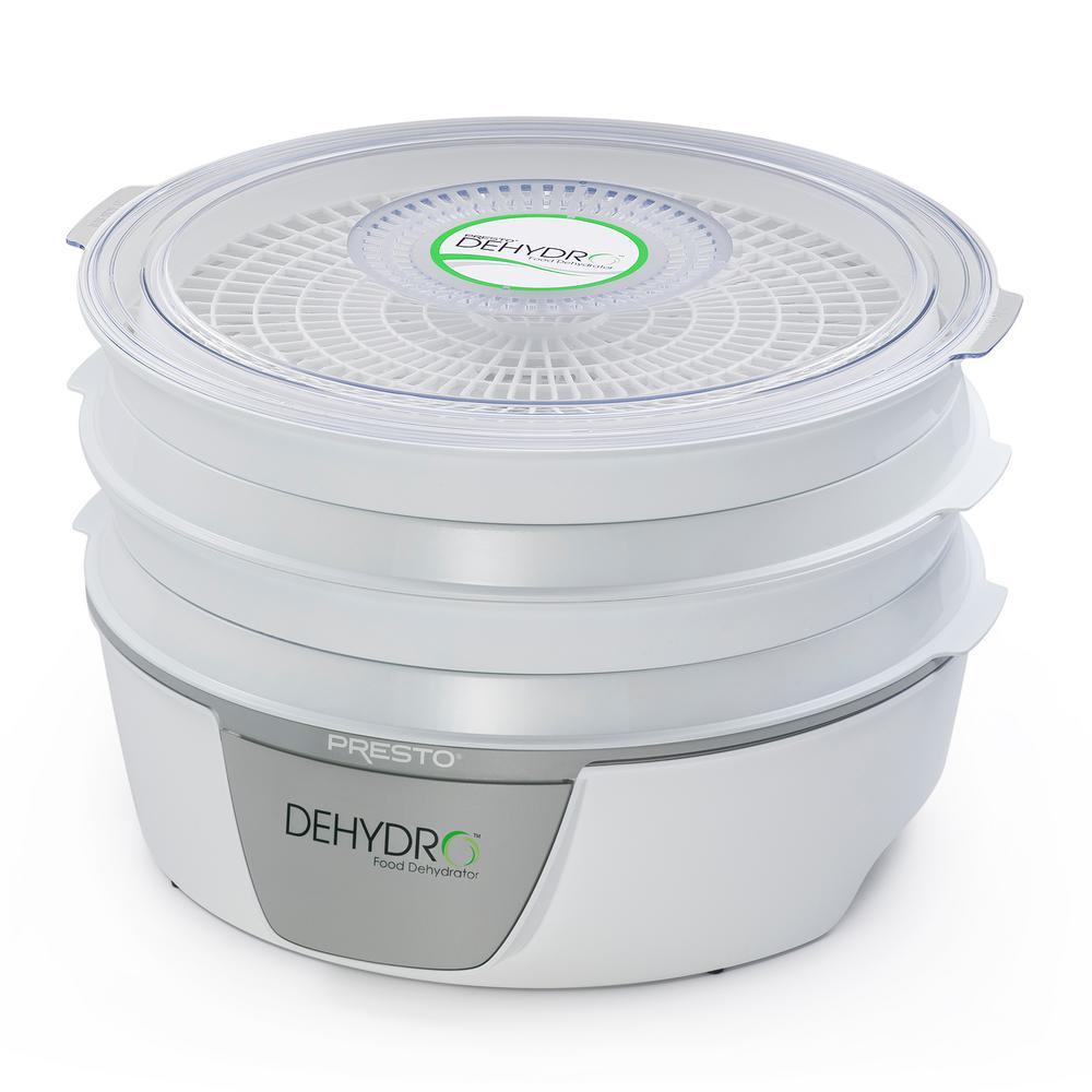Presto Dehydro 4-Tray White Food Dehydrator 06300