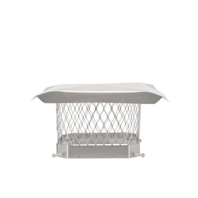 9 in. x 9 in. Mesh Chimney Cap in Stainless Steel