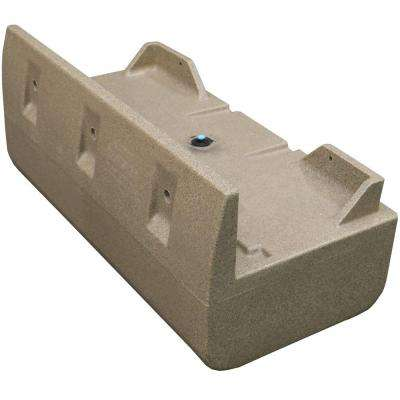 48 in. x 24 in. x 21 in. Dock System Float Drum, Sandstone Distributed by Tommy Docks