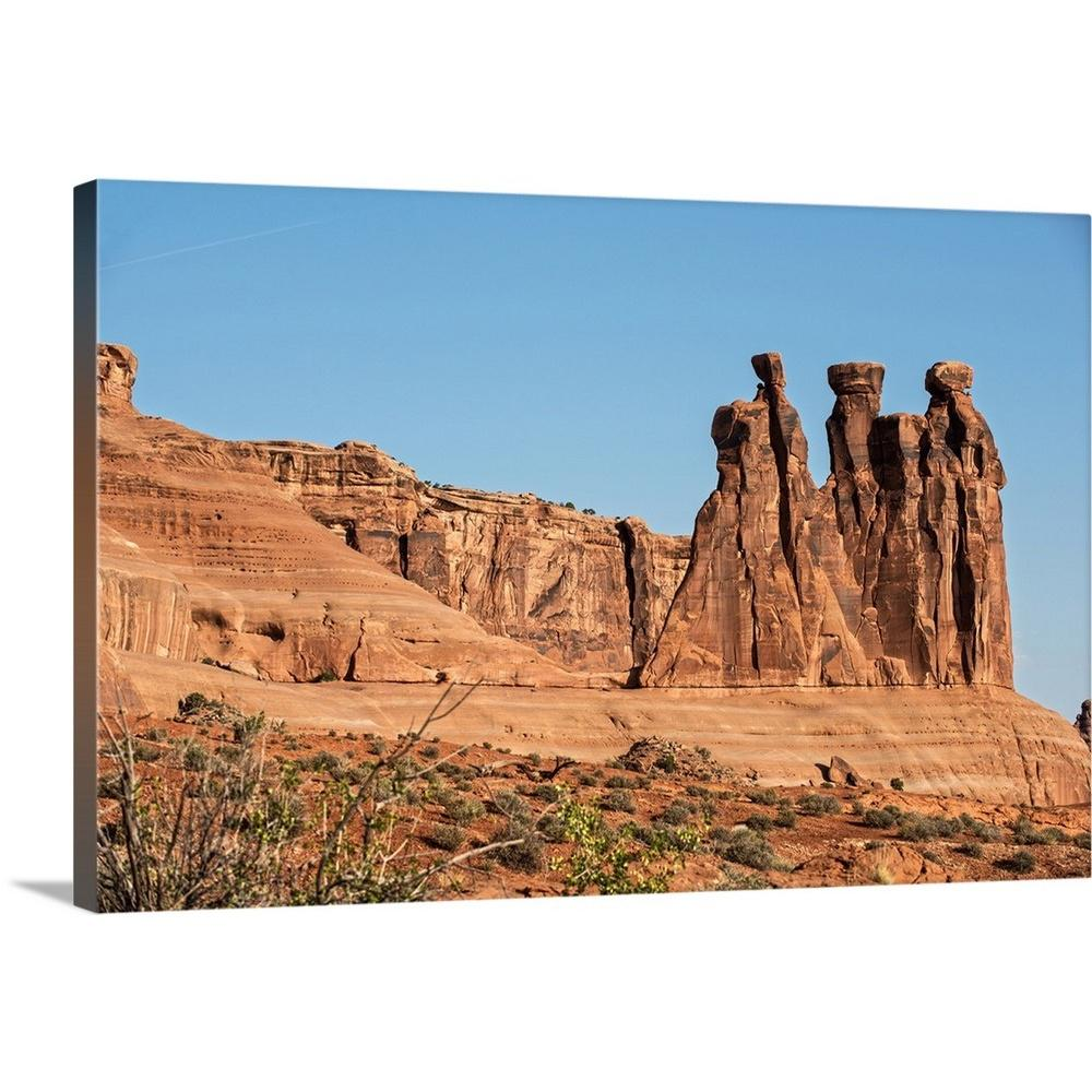 Greatbigcanvas Quot The Three Gossips Arches National Park