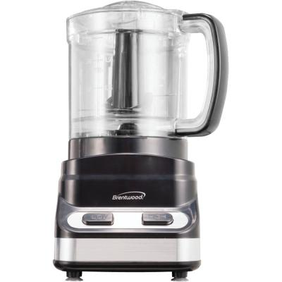 3-Cup Black Mini Food Processor