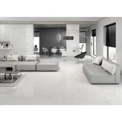 Sculpture White Matte 12.09 in. x 24.21 in. Porcelain Floor and Wall Tile (10.16 sq. ft. / case)