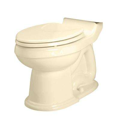 Oakmont Champion Right Height Elongated Toilet Bowl Only Less Seat in Bone