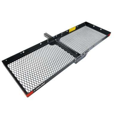 Steel Hitch Mounted Cargo Tray