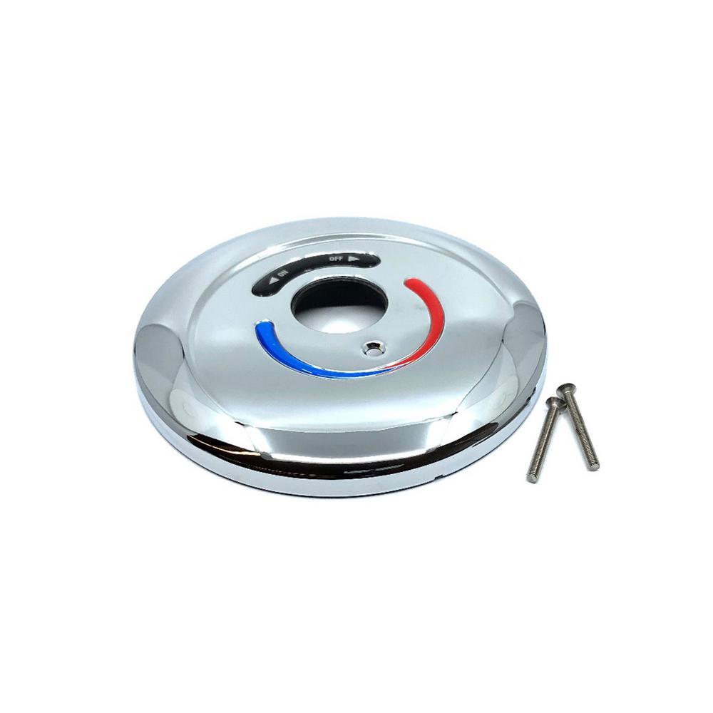 Safetymix 7 5 in  x 3 25 in  Plastic Escutcheon Kit