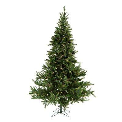 7.5 ft. Pre-lit Noble Fir Artificial Christmas Tree with 700 Smart String Lights