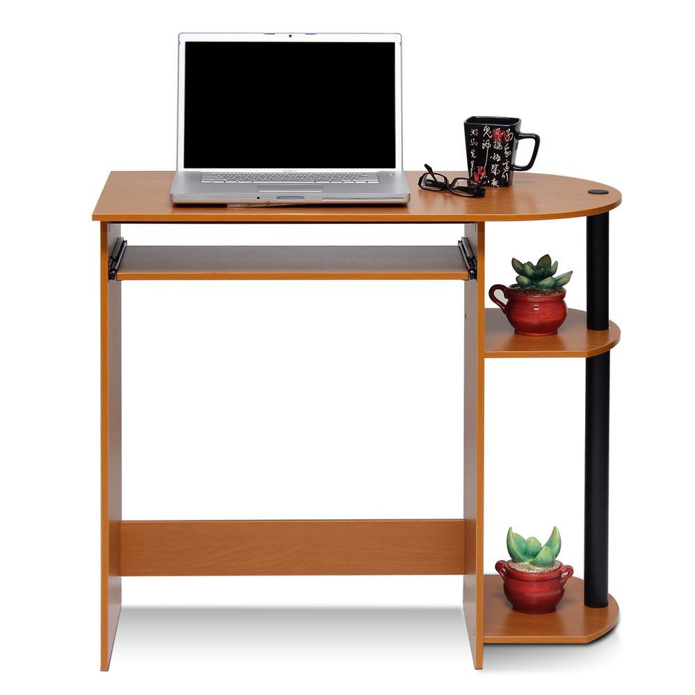 Simplistic Light Cherry Computer Desk