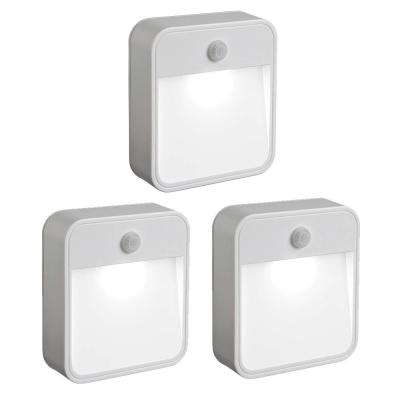 Outdoor Wireless Motion Sensing LED Stick Anywhere Light (3-Pack)
