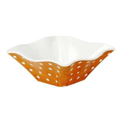 Pallini 3 in. 4-Piece Yellow Chip/Dip Bowl Set