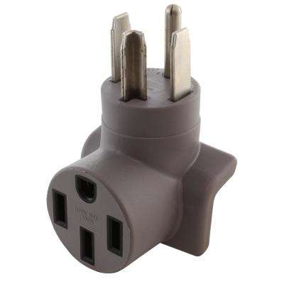 AC Connectors EV Charging Adapter NEMA 14-30P 4-Prong Dryer Plug to Tesla Electrical Vehicle Charging