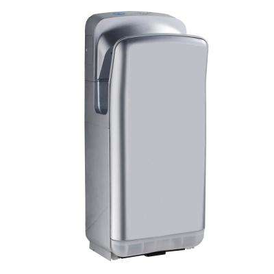 Vertical High Efficiency Touchless Gray Electric Hand Dryer
