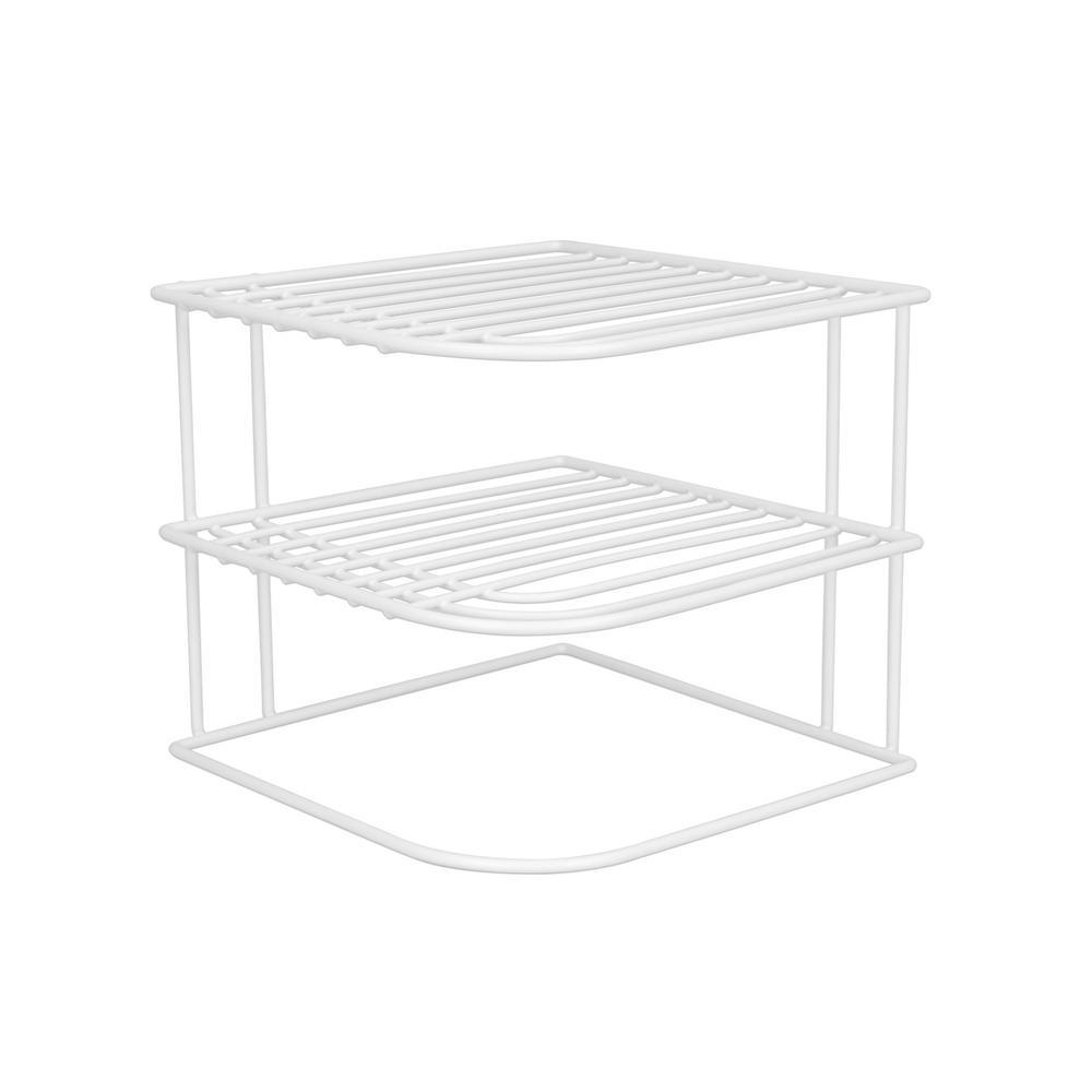 home basics 8 87 in  w x 8 87 in  d corner shelf