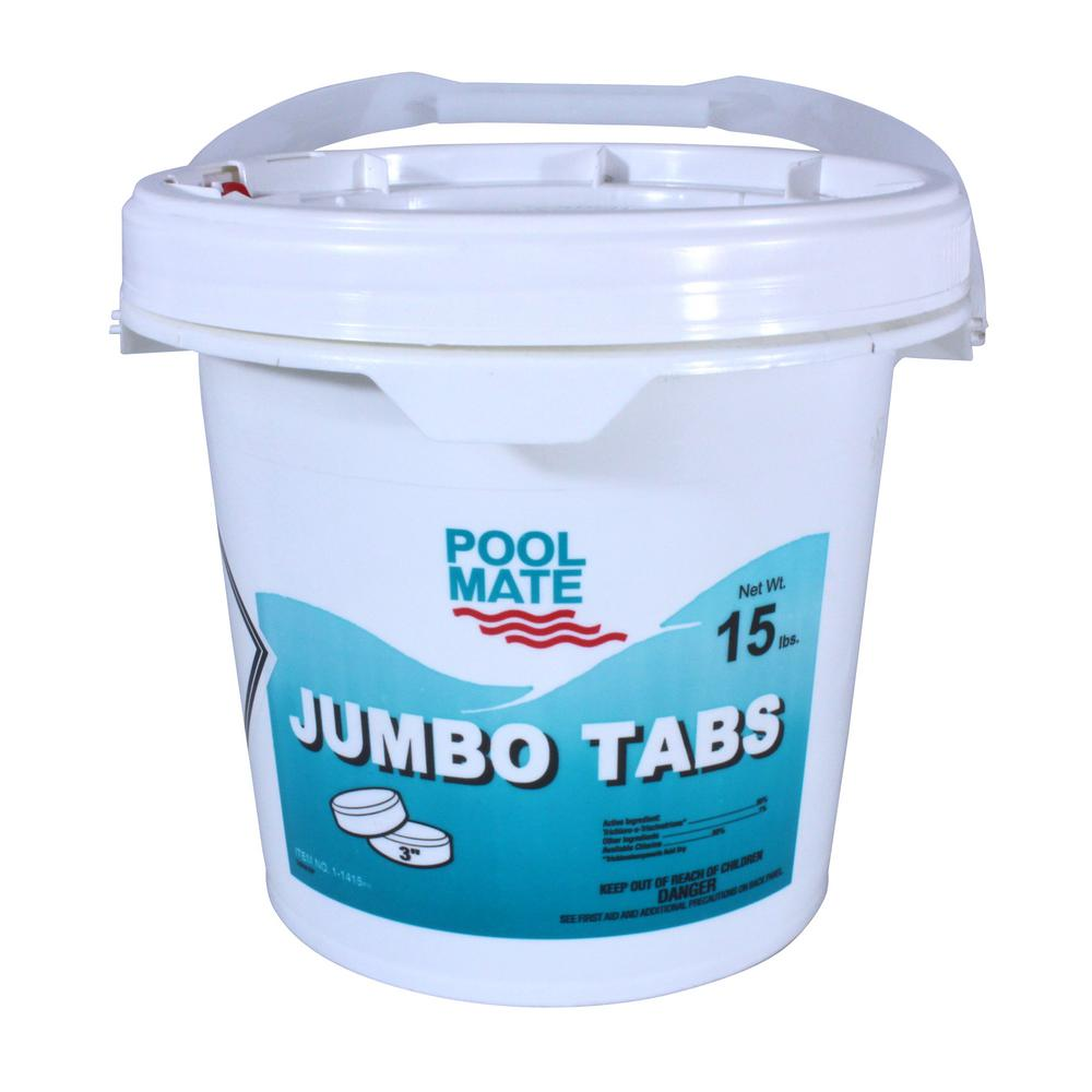 15 lb. Pool 3 in. Chlorine Jumbo Tabs
