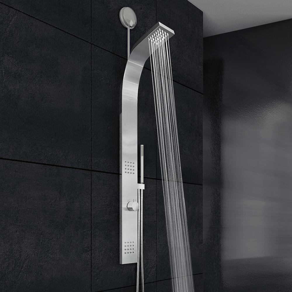 VIGO Retrofit Shower Panel System with Rain Shower Head