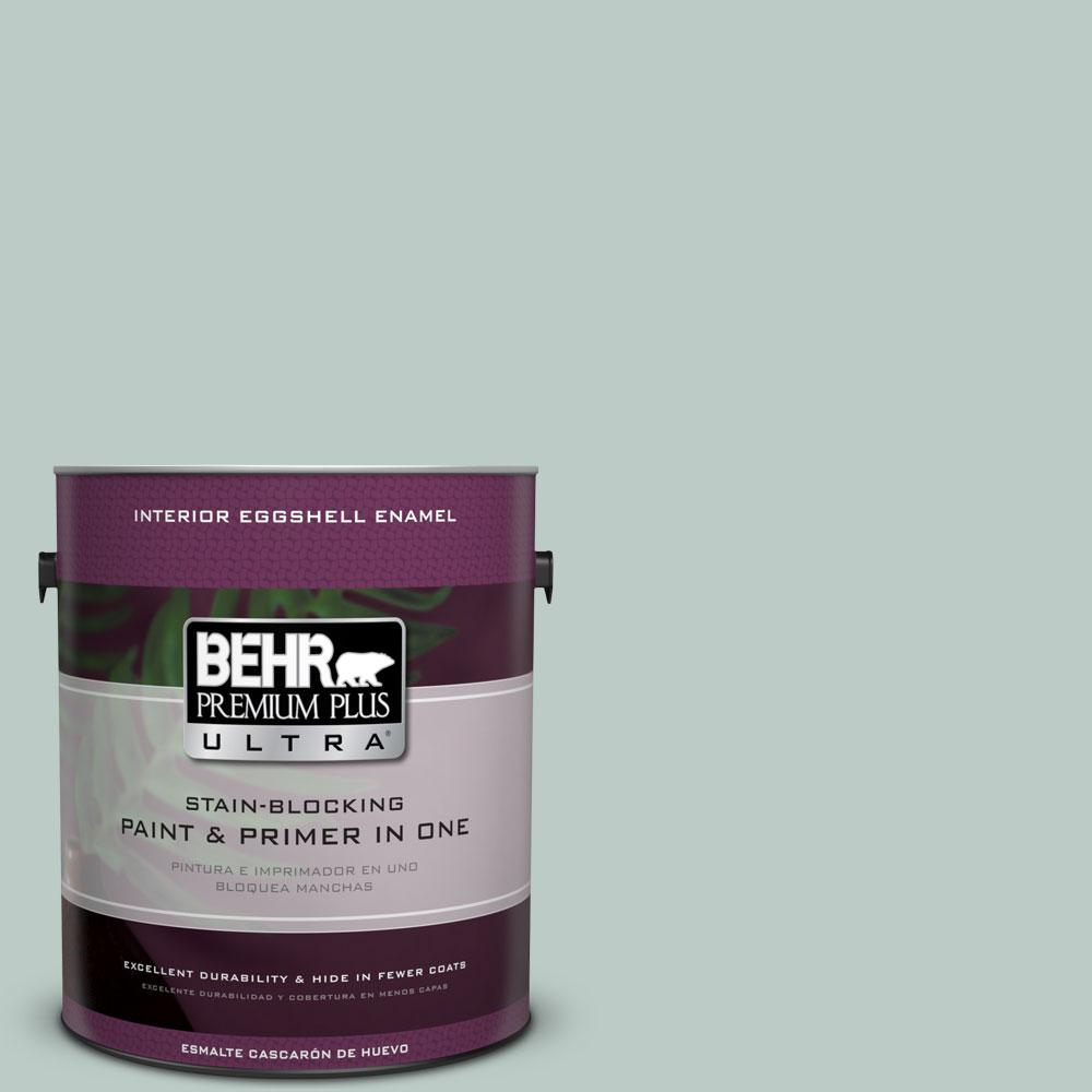 BEHR Premium Plus Ultra Home Decorators Collection 1-gal. #HDC-CL-23 Soothing Spring Eggshell Enamel Interior Paint