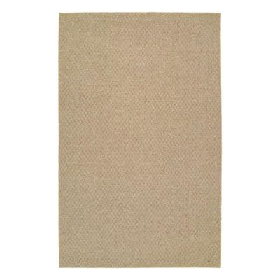 Town Square Tan 6 ft. x 9 ft. Area Rug