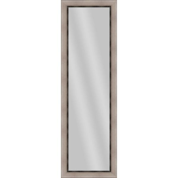 Large Rectangle Champagne Art Deco Mirror (52.25 in. H x 16.25 in. W)