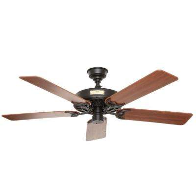hunter ceiling fans without lights. Indoor/Outdoor Black Ceiling Fan Hunter Fans Without Lights H