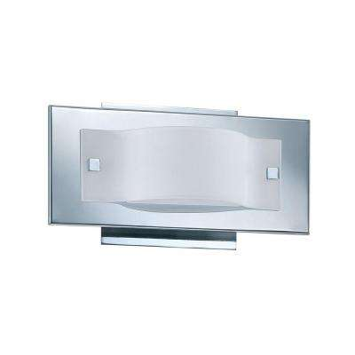 Cassiopeia 1-Light Chrome Incandescent Bathroom Wall Sconce