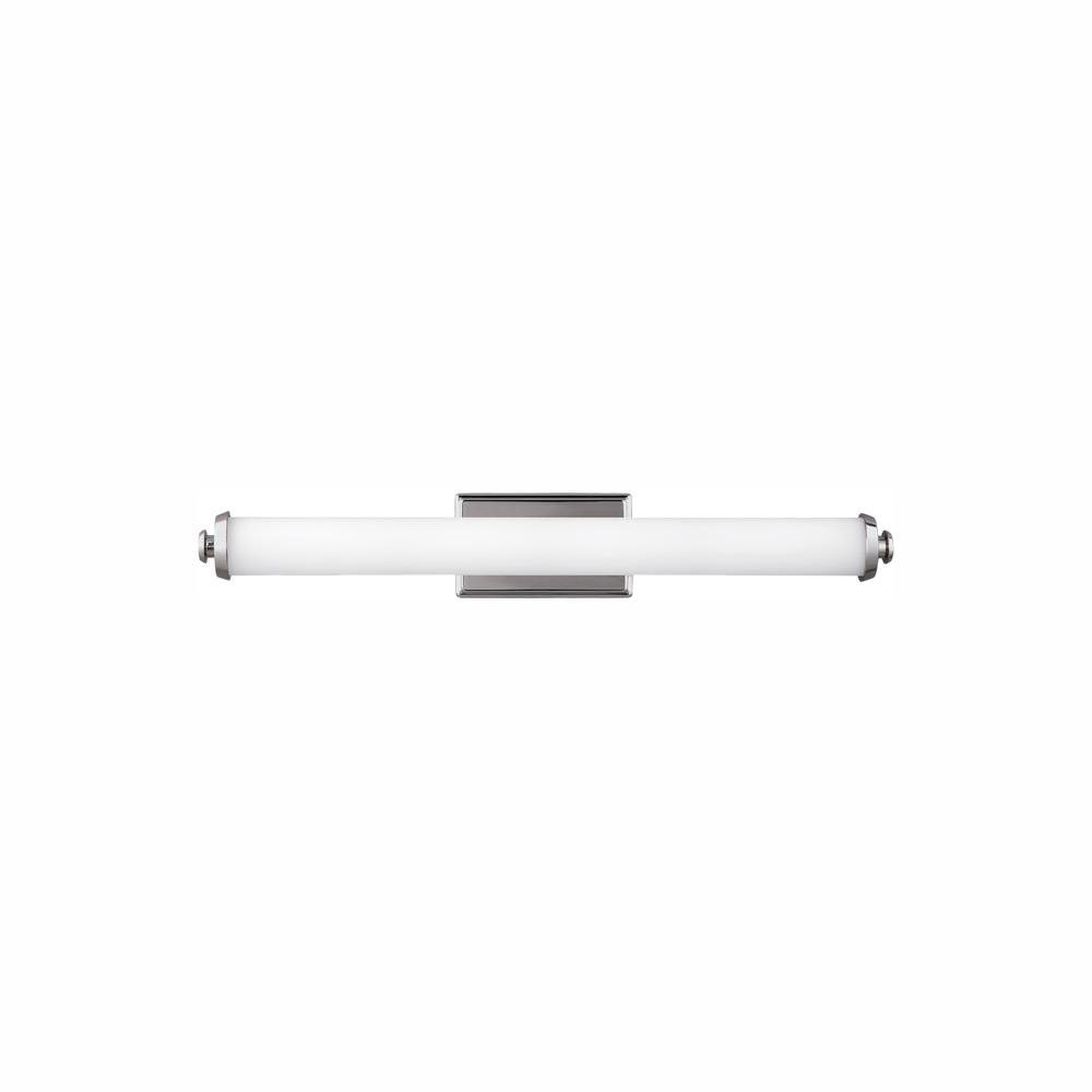 Feiss Edgebrook 41-Watt Polished Nickel Integrated LED Bath Light
