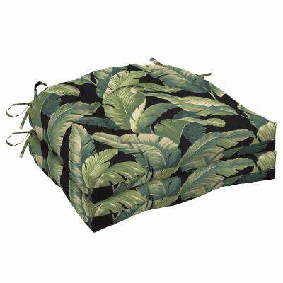 20 x 18 Onyx Cebu Outdoor Seat Cushion (2-Pack)