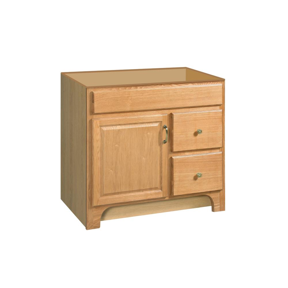 Design house richland 36 in w x 21 in d unassembled - Unassembled bathroom vanity cabinets ...