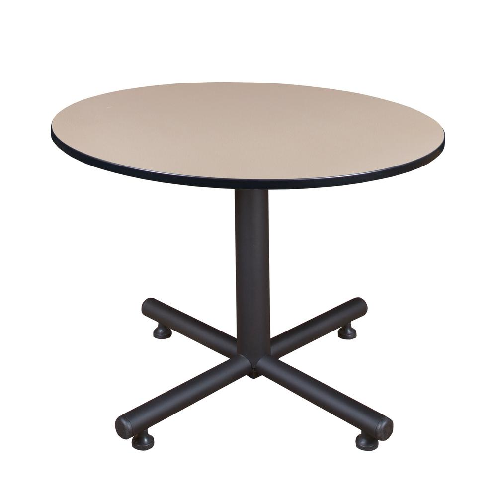 Kobe Beige 48 in. Round Breakroom Table