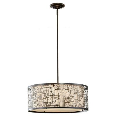 Joplin 3-Light Antique Bronze Large Pendant