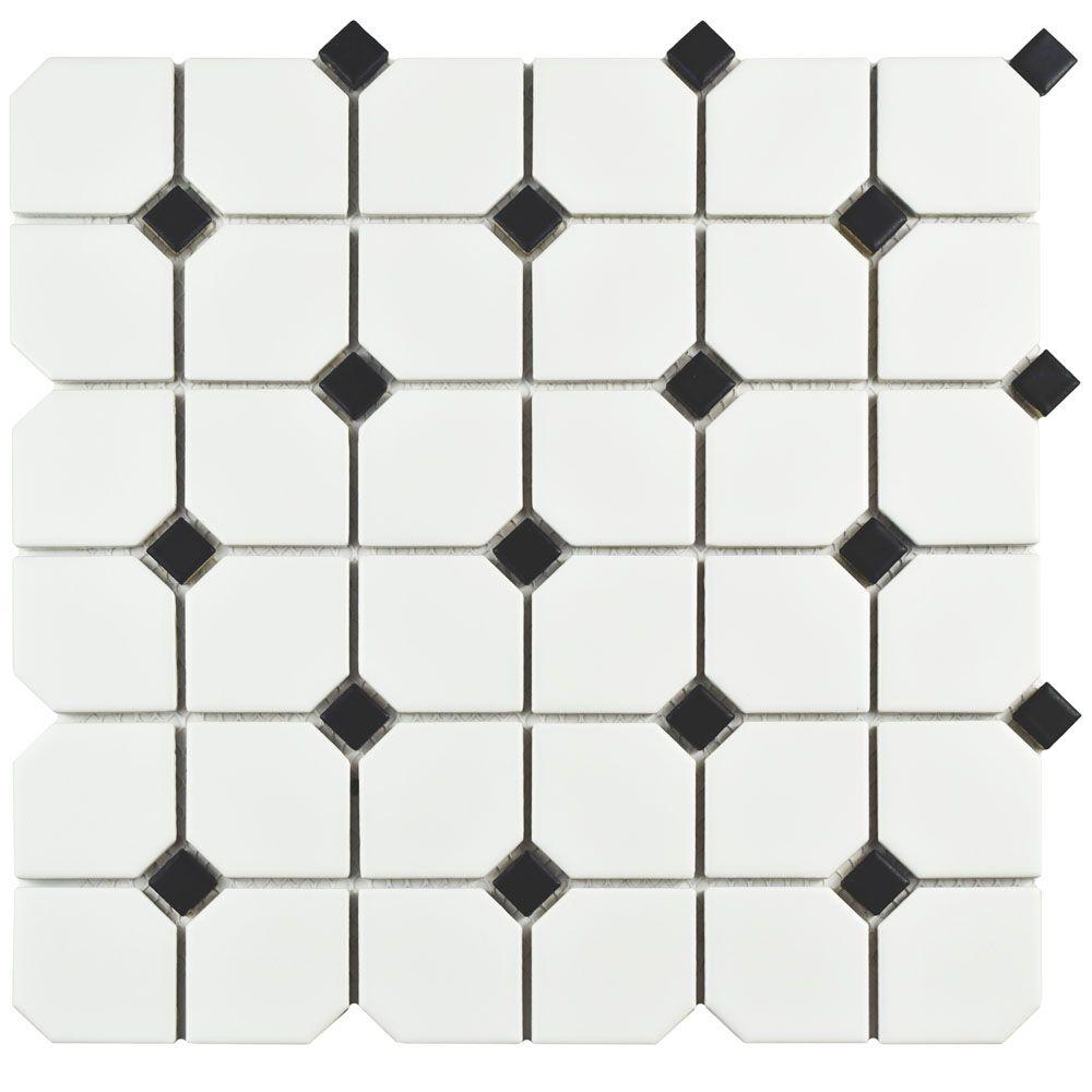 Hexagon - Mosaic Tile - Tile - The Home Depot
